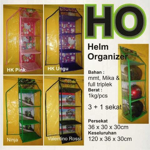 Rak Helm Gantung (Sleting) (Melindungi Helm dari tikus,kecoa,laba2,bebas debu)     Satuan 110.000     3-5 = 100.000     6-11 = 90.000     12-dst = 85.000