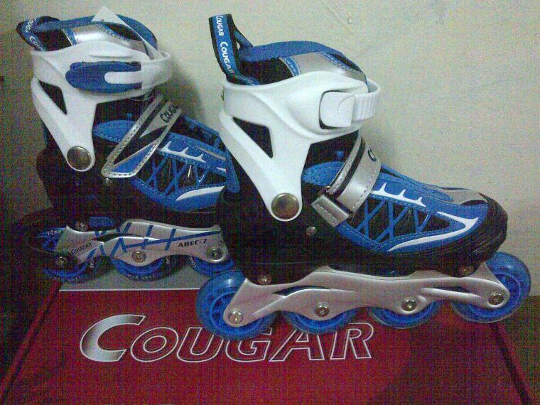 Cougar Biru M 34-37, L 38-41 Rp 550.000