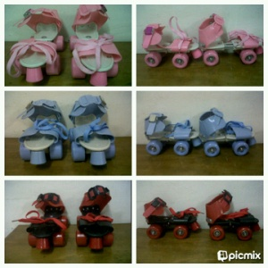 Sepatu 4 Roda Model JADUL 170.000, Warna Pink ,Biru,Merah, Uk bisa di stel,Max 80 kg