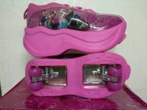 Sr 4 Roda Frozen Pink, no 28-36 rp 260