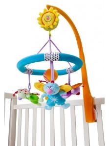 Rp 395.000  Boneka Musik klasik Taf Toys Spring Time Mobile Taf Toys     Kode Produk:11215     Ketersediaan:Tersedia     Berat:1,00 kg Fitur produk :     Didesain dengan bentuk yang unik dan menarik     Menggunakan bahan yang aman untuk anak anda     Cocok ditaruh di box tempat tidur anak anda     Terdapat 3 boneka lucu yang dapat digantung     Terdapat musik klasik yang menarik     Mudah untuk dilepas dan dipasang kembali     Untuk umur 0+     Ukuran produk : 33.5 x 39 x 10 cm