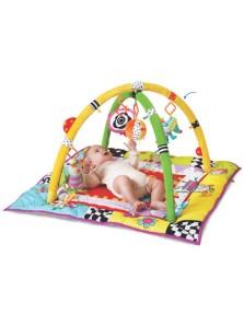 Rp 590.000 Taf Toys Kooky Gym Taf Toys     Kode Produk:11255     Ketersediaan:Tersedia     Berat:4,00 kg Fitur produk :     Didesain dengan ilustrasi yang unik dan menarik     Menggunakan bahan kain yang aman dan empu untuk anak anda     Terdapat 2 tiang untuk menggantung boneka     Terdapat 3 boneka yang lucu     Terdapat kaca yang aman untuk anak anda     Untuk umur 0+