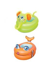 Rp 130.000 Kolam motif Ikan & Gajah Bestway Baby Bath Bestway     Kode Produk:51125     Ketersediaan:Tersedia     Berat:1,00 kg Fitur produk :     Didesain dengan bentuk ikan dan gajah yang unik dan lucu     Menggunakan bahan yang aman dan nyaman untuk anak anda     Terdapat 2 ring udara     Untuk umur 0-1 tahun     Ukuran produk : 89 x 61 x 58 cm