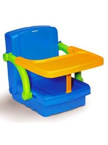 Rp 395.000 Bangku Anak Kids Kit Hi Seat Kids Kit     Kode Produk:92100     Ketersediaan:Tersedia     Berat:4,00 kg Fitur produk :     Didesain dengan bentuk yang unik dan menarik     Menggunakan bahan palstik yang aman untuk anak anda     Membantu anak anda belajar makan di tempat dengan benar     Terdapat tali pengaman untuk memberikan keamanan ekstra untuk anak anda     Alas duduk yang nyaman     Dapat dilipat menjadi koper sehingga mudah untuk dibawa     Ukuran produk : 66 x 39 x 38 cm     Ukuran packaging : 33 x 35 x 14 cm