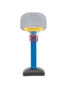 Rp.900.000 Fitur produk :     Didesain dengan bentuk yang unik dan menarik     Menggunakan bahan plastik yang aman     Bagian pinggir yang dibuat bulat sehingga memberikan keamanan ekstra untuk anak anda     Dapat ditinggikan maupun direndahkan dengan mudah     Bagian bawah yang dapat diisi air hingga 4,5 liter sehingga tidak mudah jatuh pada saat anak anda bermain     Untuk umur 2 tahun keatas     Dapat direndahkan hingga 80 cm     Ukuran produk (paling tinggi) : 63 x56 x 200 cm Rp 700.000 Ching-Ching Basket Ball Set Ching Ching     Kode Produk:BS 03     Ketersediaan:Tersedia     Berat:5,00 kg Beli BandingkanTambah ke Daftar Keinginan [Pin It]