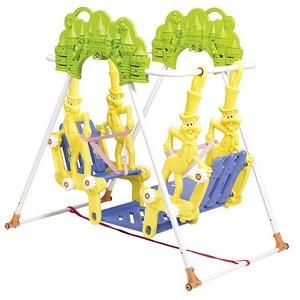Info Lengkap Ayunan Double Kelinci SW 08     Untuk umur 1 - 5 tahun     Ukuran produk : 128 x 85 x 125 cm     Ukuran karton : 117 x 40 x 27 cm     Beban ayunan sampai dengan 40 kg