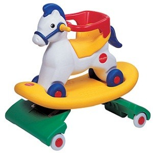 Rp.900.000        Info Lengkap Edu-play - Spring Pony NP 4383     item : NP-4383     Ages : 1ages +     Carton size : 51 x 34 x 80     Indoor and Outdoor multifunctional toys horse's with 3 step function     Spring Pony : front and rear wheels allow back and forth movement.     Rocking Pony : Rock back and forth with spring removed     Riding Pony : Adjustable for a baby's physical grow